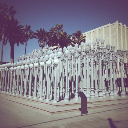Urban Light @ LACMA