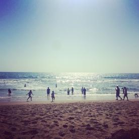 Beach day in Santa Monica